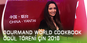Gourmand World Cookbook Ödül Töreni 2018