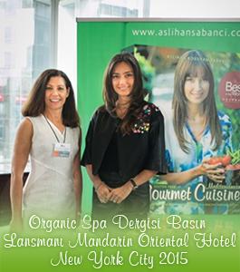 Organic Spa Dergisi Basın Lansmanı - New York City 2015