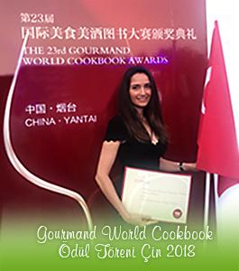 Gourmand World Cookbook Ödül Töreni Çin 2018