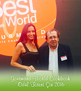 Gourmand World Cookbook Ödül Töreni Çin 2016