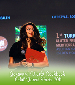 Gourmand World Cookbook Ödül Töreni Paris 2011