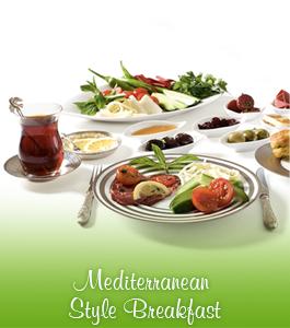 Mediterranean Style Breakfast