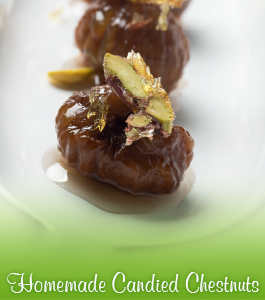 Homemade Candied Chestnuts