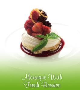 Meringue With Fresh Berries